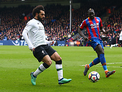March 31, 2018 - London, Greater London, United Kingdom - Liverpool's Mohamed Salah.during the Premiership League  match between Crystal Palace and Liverpool at Wembley, London, England on 31 March 2018. (Credit Image: © Kieran Galvin/NurPhoto via ZUMA Press)