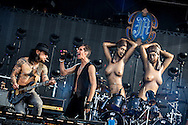Perry Farrell and Dave Navarro of Jane's Addiction