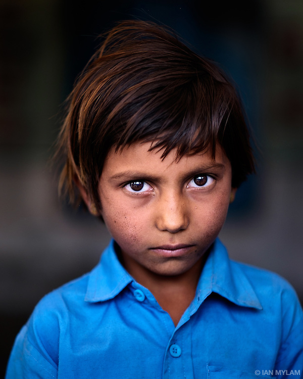 Schoolgirl, Rajasthan, India, 2015