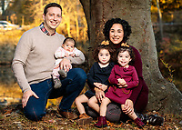 Fun Fall Family Portraits of the McLaughlin Family with Dan Busler Photography on November 8, 2020