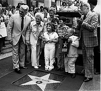 1981 Billy Barty's Walk of Fame ceremony
