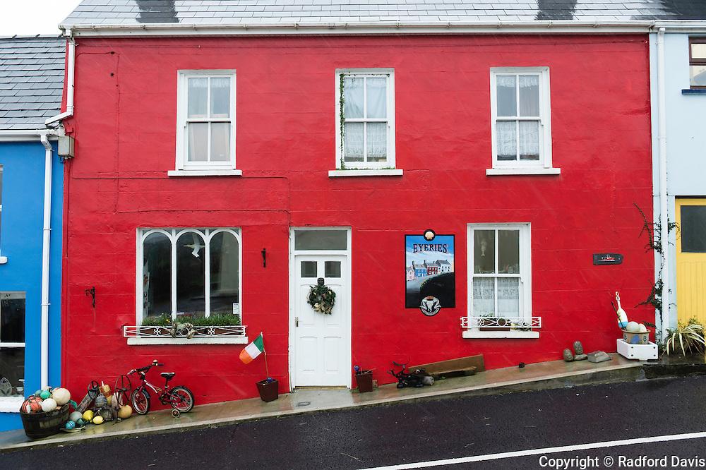 Colorful house, Ireland