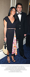 Snooker player RONNIE O'SULLIVAN and MISS JO LANGLEY, at a reception in London on 23rd February 2003.PHK 188