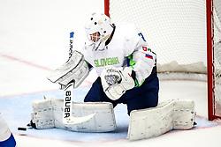 Luka Gracnar of Slovenia during ice hockey match between Belarus and Slovenia at IIHF World Championship DIV. I Group A Kazakhstan 2019, on May 2, 2019 in Barys Arena, Nur-Sultan, Kazakhstan. Photo by Matic Klansek Velej / Sportida