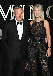 Nick Mason and Nettie mason attending the BFI's Luminous fundraising gala, held at the Guildhall, London. Picture date: Tuesday October 3rd, 2017. Photo credit should read: Doug Peters/EMPICS Entertainment