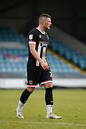 Grimsby Town Mattie Pollock (25) full length portrait during the EFL Sky Bet League 2 match between Scunthorpe United and Grimsby Town FC at the Sands Venue Stadium, Scunthorpe, England on 23 January 2021.