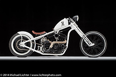 Pat Patterson White Bike