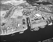 "Ackroyd 17971-11 ""Schnitzer Industries. Old Oregon shipyard. International Terminals. September 26, 1972"""