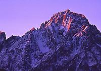 Sunrise on 14,150 ft. Mount Sneffels, Senffels Range, San Juan Mountains, Colorado.