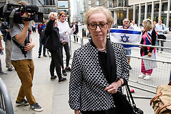 © Licensed to London News Pictures. 04/09/2018. London, UK. MARGARET BECKETT MP arrives at Labour Party headquarters in London to attend a National Executive Committee meeting. The Labour Party's ruling body is expected to vote on whether to adopt, in full, the IHRA (International Holocaust Remembrance Alliance) definition of anti-Semitism. Photo credit: Ben Cawthra/LNP