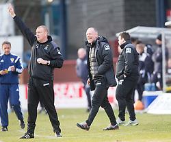 Inverness Caledonian Thistle's manager John Hughes. <br /> Dundee 1 v 1 Inverness Caledonian Thistle, SPFL Ladbrokes Premiership game played at Dens Park, 27/2/2016.