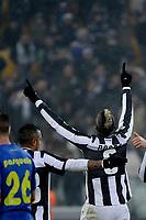Paul Pogba esultanza secondo gol  , goal celebration ,  Juventus.Calcio  Juventus vs Udinese.Campionato Serie A - Torino 19/1/2013 Juventus Stadium.Football Calcio 2012/2013.Foto Federico Tardito Insidefoto