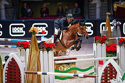 Smith Robert, GBR, Bavi<br /> MEVISTO Amadeus Horse Indoor Salzburg<br /> © Hippo Foto - Stefan Lafrentz<br /> 11-12-2016