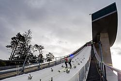 03.01.2013, Bergisel Schanze, Innsbruck, AUT, FIS Ski Sprung Weltcup, 61. Vierschanzentournee, Training, im Bild Severin Freund (GER) // Severin Freund of Germany during practice Jump of 61th Four Hills Tournament of FIS Ski Jumping World Cup at the Bergisel Schanze, Innsbruck, Austria on 2013/01/03. EXPA Pictures © 2012, PhotoCredit: EXPA/ Juergen Feichter
