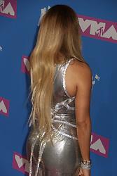 August 20, 2018 - New York City, New York, U.S. - Singer JENNIFER LOPEZ attends the arrivals for the 2018 MTV 'VMAS' held at Radio City Music Hall. (Credit Image: © Nancy Kaszerman via ZUMA Wire)