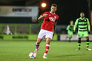 Bristol City's Zac Vyner during the The County Cup match between Forest Green Rovers and Bristol City at the New Lawn, Forest Green, United Kingdom on 23 November 2015. Photo by Shane Healey.