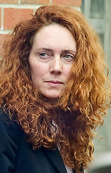 Former News International chief executive Rebekah Brooks leaves Lewisham Police station after being charged on 5 counts of perverting the course of justice relating to News International and phone hacking, Tuesday May 15, 2012. Photo by Andrew Parsons/i-images