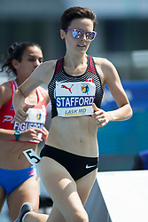August 12, 2018 - Toronto, ON, U.S. - TORONTO, ON - AUGUST 12: Gabriela Stafford (Canada), bronze 1500m at the 2018 North America, Central America, and Caribbean Athletics Association (NACAC) Track and Field Championships on August 12, 2018 held at Varsity Stadium, Toronto, Canada. (Photo by Sean Burges / Icon Sportswire) (Credit Image: © Sean Burges/Icon SMI via ZUMA Press)