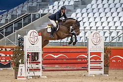 Lelie Walter, BEL, perte Totale de Res Nova<br /> Pavo Hengsten competitie - Oudsbergen 2021<br /> © Hippo Foto - Dirk Caremans<br />  22/02/2021