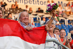 Familie Dubbeldam<br /> Individual competition round 3 and Final Team<br /> FEI European Championships - Aachen 2015<br /> © Hippo Foto - Dirk Caremans<br /> 21/08/15