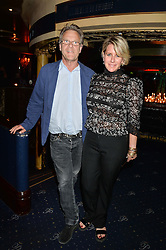Actor ROBERT FOX and his wife FIONA GOLFAR at The Hoping Foundation's 'Starry Starry Night' Benefit Evening For Palestinian Refugee Children held at The Cafe de Paris, Coventry Street, London on 19th June 2014.