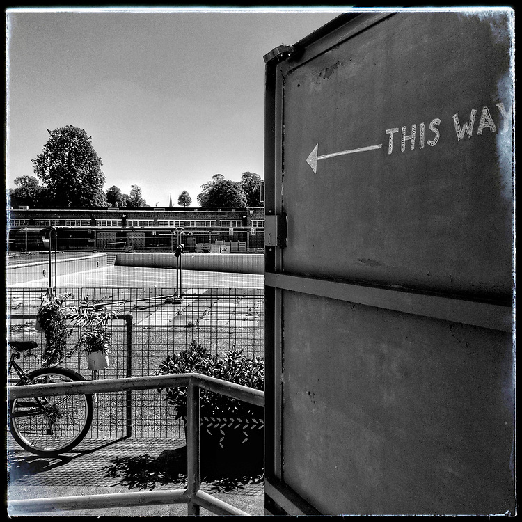 Brockwell Lido Brixton Lockdown