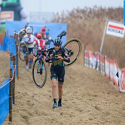12-12-2020: Wielrennen: Veldrijden Scheldecross: Antwerpen<br />Womensrace Lucinda Brand