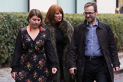 London, UK. 16 November, 2019. Karie Murphy (c), who is overseeing the Labour Party's general election campaign, arrives at the Clause V meeting. The Clause V meeting, chaired by the party leader and attended by members of the National Executive Committee (NEC), relevant Shadow Cabinet members and members of the National Policy Forum, will finalise the party's general election manifesto. The meeting is named after Clause V of the Labour Party rulebook. Credit: Mark Kerrison/Alamy Live News