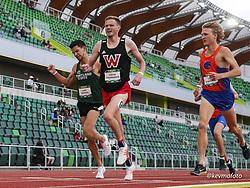 University of Oregon<br /> Oregon Relays track and field meet<br /> April 23-24, 2021 Eugene, Oregon, USA<br /> mens 1500, Western Oregon