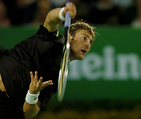 MELBOURNE, AUSTRALIA - JANUARY 30: Juan Carlos Ferrero in action during day 12 of the Australian Open January 30, 2004 in Melbourne, Australia. (Photo by Sportsbeat) *** Local Caption *** -