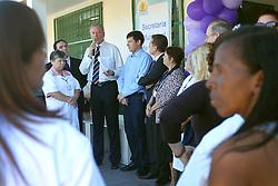 José Fortunati durante ato de entrega da reforma da Unidade Básica de Saúde da Restinga FOTO: Jefferson Bernardes/Preview.com