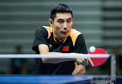Feng Panfeng of China plays final match during Day 4 of SPINT 2018 - World Para Table Tennis Championships, on October 20, 2018, in Arena Zlatorog, Celje, Slovenia. Photo by Vid Ponikvar / Sportida