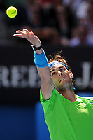 TENNIS - GRAND SLAM - AUSTRALIAN OPEN 2012 - MELBOURNE PARK (AUS) - 18/01/2012 - PHOTO : VIRGINIE BOUYER / TENNIS MAGAZINE / DPPI - DAY 3 - RAFAEL NADAL (ESP)