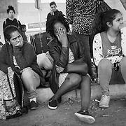 Migrants Await Asylum in Tijuana