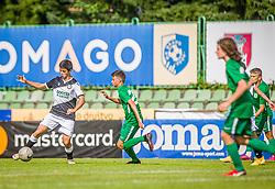 NK Olimpija vs. Udine Celcio during the Ljubljana Open Cup 2021. , on 12.06.2021 in ZAK Stadium, Ljubljana, Slovenia. Photo by Urban Meglič / Sportida
