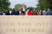 Nederland, Groesbeek, 4-5-2009De dodenherdenking op de Canadese erebegraafplaats. In Groesbeek landden in september 1944 parachutisten als onderdeel van de operatie Market Garden.Foto: Flip Franssen