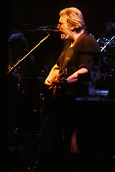 Jerry Garcia. The Grateful Dead in Concert at the Brendan Bryne Arena, East Rutherford NJ, on April 1st 1988.