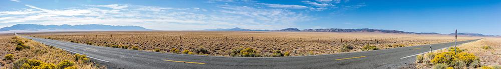 Along highway 21 in Beaver County, Western Utah, USA.