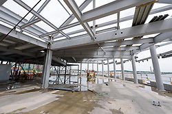 Boathouse at Canal Dock Phase II | State Project #92-570/92-674 Construction Progress Photo Documentation No. 11 on 23 May 2017. Image No. 30 Second Level Steel