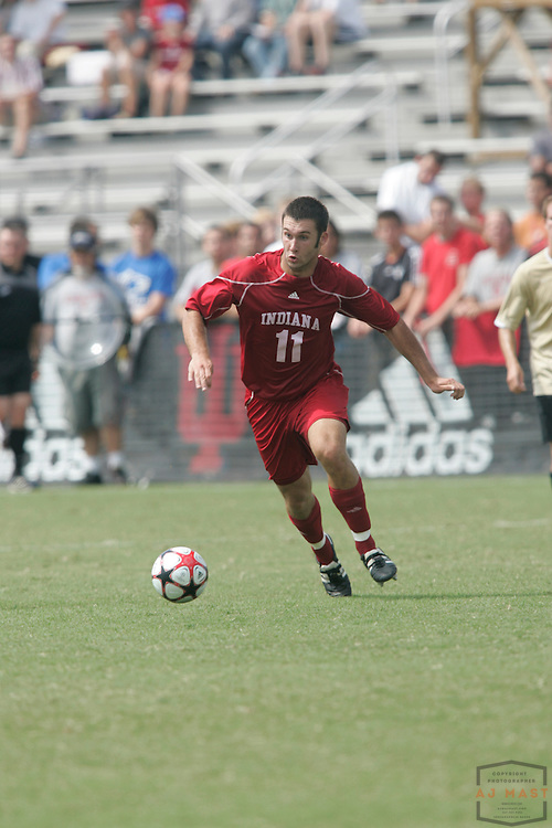 06 September 2009: Indiana's Will Bruin as the Indiana Hoosiers played the Wake Forest Demon Deacons in a college soccer game in Bloomington, Ind.
