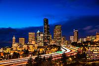 Seattle in Sapphire