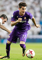 ACF Fiorentina's Gareth Bale during Santiago Bernabeu Trophy. August 23,2017. (ALTERPHOTOS/Acero)