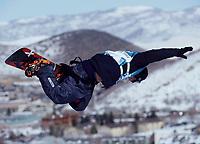 Snowboard. Snøbrett. Halfpipe. OL 2002 Salt Lake City.  Danny Kass fra USA. Sølvmedalaje. 11.02.02.<br />Foto: Uwe Speck, Digitalsport