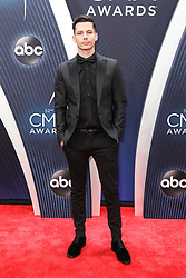 52nd Annual Country Music Association Awards hosted by Carrie Underwood and Brad Paisley and held at the Bridgestone Arena on November 14, 2018, in Nashville, TN. © Curtis Hilbun / AFF-USA.com. 14 Nov 2018 Pictured: Devin Dawson. Photo credit: Curtis Hilbun / AFF-USA.com / MEGA TheMegaAgency.com +1 888 505 6342