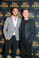 Alex Rathgeber-Tom Bunting at the opening night of War Horse, at the Lyric Theatre, Star City on February 18, 2020 in Sydney, Australia