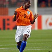 NLD/Amsterdam/20060301 - Voetbal, oefenwedstrijd Nederland - Ecuador, Georg Boateng