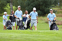 HILVERSUM - Sweden won  match from Denmark. Quarter finals. ELTK Golf 2020 The Dutch Golf Federation (NGF), The European Golf Federation (EGA) and the Hilversumsche Golf Club will organize Team European Championships for men. COPYRIGHT KOEN SUYK