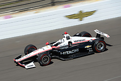 April 30, 2018 - Indianapolis, IN, U.S. - INDIANAPOLIS, IN - APRIL 30: Josef Newgarden (1) during an Open Test on April 30, 2018, at the Indianapolis Motor Speedway in Indianapolis, IN. (Photo by James Black/Icon Sportswire) (Credit Image: © James Black/Icon SMI via ZUMA Press)