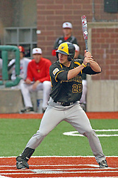 25 May 2013:  Garrett Bayliff during an NCAA division 1 Missouri Valley Conference (MVC) Baseball Tournament game between the Wichita State Shockers and the Illinois State Redbirds on Duffy Bass Field, Normal IL