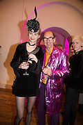 ALEXIA WIGHT; ROBIN WIGHT, Isabella Blow: Fashion Galore! private view, Somerset House. London. 19 November 2013